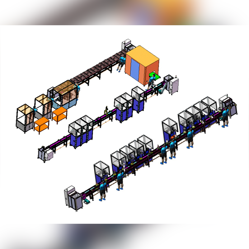 Flexible transfer production line solution