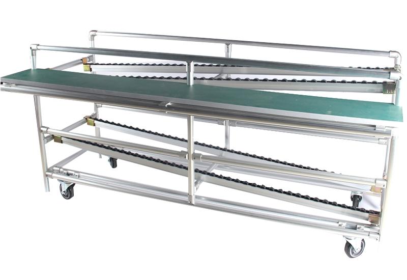 Aluminum tube fluency frame