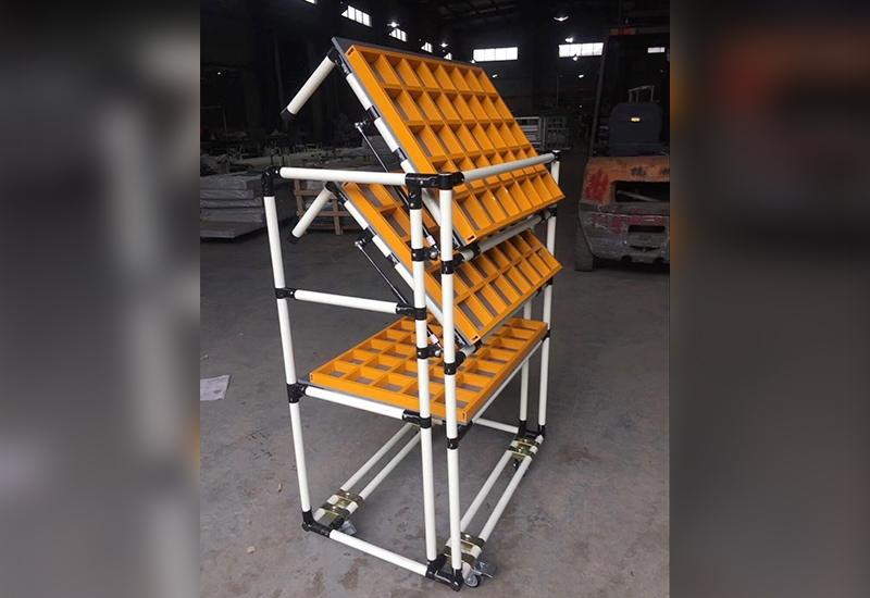 Multi grid replica storage car